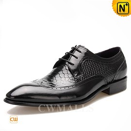 CWMALLS - CWMALLS® Lace Up Leather Dress Shoes CW716025