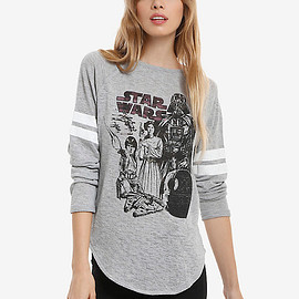 Star Wars - Star Wars Athletic Womens Pullover Top