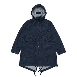 ENGINEERED GARMENTS - Highland Parka-12oz Cone Denim-Indigo
