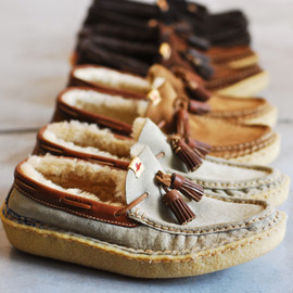 Visvim - Island Lake Slipper Folk