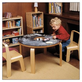 Offi - Woody Chalkboard Table