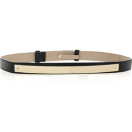 Chloe - Plaque-detailed leather belt