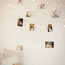 DIY - Fairy Light Wall