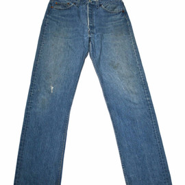 Levi's Vintage Clothing - Vintage Levis 501 Jeans Made in USA Mens Size W35 x L36