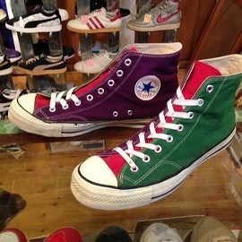 "converse - 「<used>80's converse FASHION ALLSTAR HI crazy""made in USA"" size:US12(30.5cm) 16800yen」販売中"