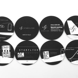 Star Flyer - KIX×STARFLYER Beverage Coasters