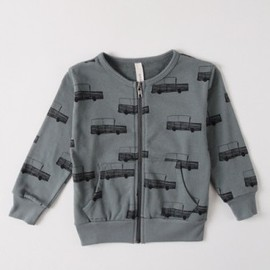 BOBO CHOSES - Sweat shirt LS Zip M. Mehari
