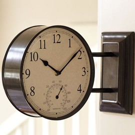 Pottery Barn - SIDE MOUNTED STATION CLOCK