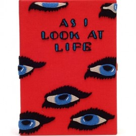 Olympia Le-Tan - 《 'As I Look At Life' large clutch 》