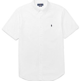 Polo Ralph Lauren - Slim-Fit Cotton-Seersucker Shirt