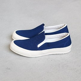 DOEK SHOE INDUSTRIES - DOEK SLIP-ON #navy