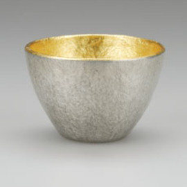 Nousaku - Large Sake Cup [gold], Best Nippon Design, since 1609, Takaoka City, Toyoma Prefecture