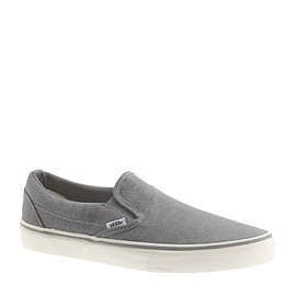 VANS - classic slip-on sneakers in washed canvas