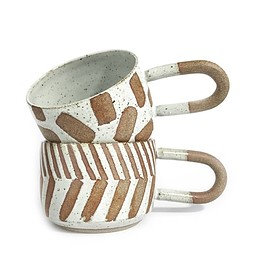 "Public Holiday - Image of ""U"" MUG PATTERNED"
