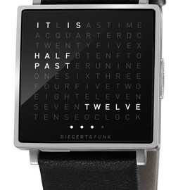QLOCKTWO - TIME IN WORDS