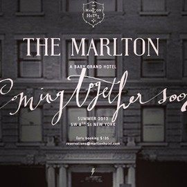 NEW YORK - The Marlton Hotel