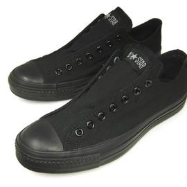 CONVERSE -  ALL STAR SLIP III OX  BLACK MONOCHROME