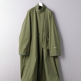 HYKE - PERTEX MLTRY COAT
