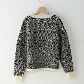 Steven Alan - <steven alan>WOOL TRINK TREE PULLOVER KNIT