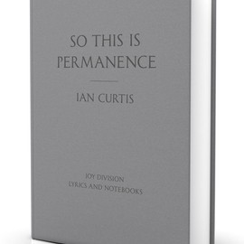 IAN CURTIS - SO THIS IS PERMANENCE