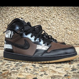 Jordan Brand, Mache Customs, NIKE - Air Jordan 1 Retro Hi OG - Zoo York Custom