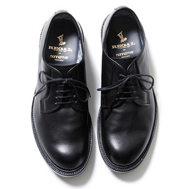 nonnative, REGAL - DWELLER SHOE PLAIN TOE - COW LEATHER WITH GORE-TEX® 2L by REGAL