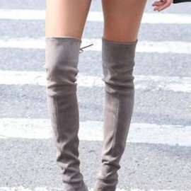 Thigh high boots - LOVE