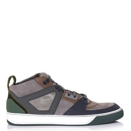 lanvin - bmx mid-top trainers