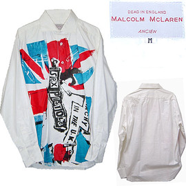 Malcolm Mclaren - Malcolm Mclaren Sex Pistols Anarchy in the U.K./ Jamie Reid Shirt マルコムマクラーレン