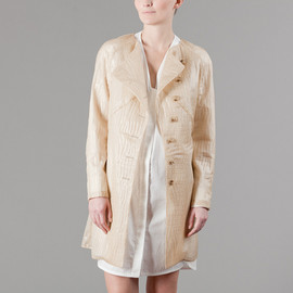 Belle Ninon - Croco Trench - Beige