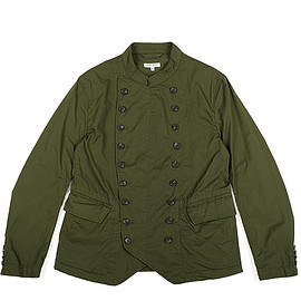 ENGINEERED GARMENTS - Chelsea Jacket-High Count Twill-Olive