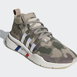 adidas - EQT Support Mid ADV - Beige/Olive
