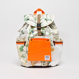 PORTER FOR CARVEN - Herbal Print Backpack
