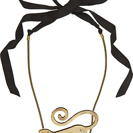 LANVIN - SS2015 Gold-plated necklace