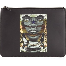 GIVENCHY - printed clutch