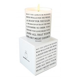 Quotable Candle - Irish Blessing Quotable Candle