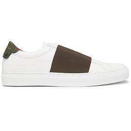 GIVENCHY - Strap Leather Sneakers