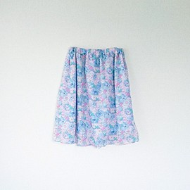 min arbetsyta - gathered skirt for summer