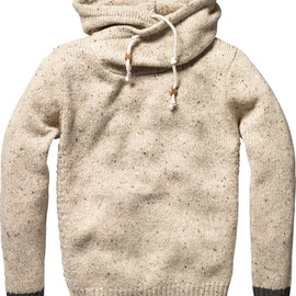 SCOTCH&SODA - HOODED KNIT