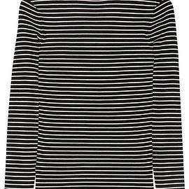 Black & White Striped Sweater Dress