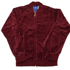 adidas - SUPER STAR VELOUR TRACK TOP