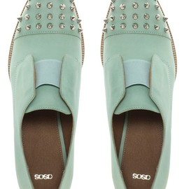 Asos - Pastel studded shoes