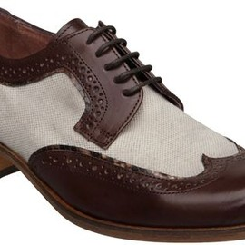 Pied A Terre - Pied A Terre Hazel Brown Lace Up Brogues in Brown -