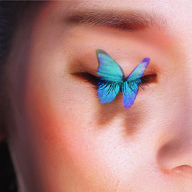 Kao COCOLABミュージアム - 花鳥風月/Real-Time Face Tracking & Projection Mapping