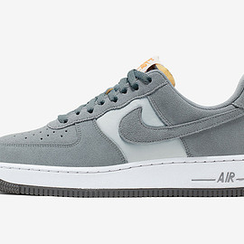 NIKE - Air Force 1 Low - Cool Grey/Bright Ceramic/White