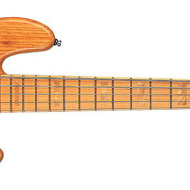 Fender - Marcus Miller Jazz Bass® V (Five String), Maple Fretboard, Aged Natural, 3-Ply Black Pickguard