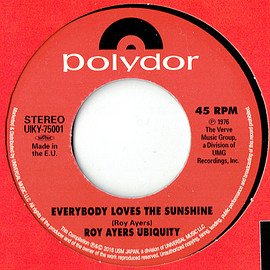 "ROY AYERS UBIQUITY/ RAMP - ""EVERYBODY LOVES THE SUNSHINE""  ""DAYLIGHT"" 7inch (captain vinyl)"