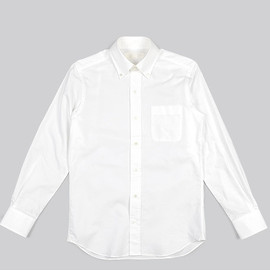 The FRANKLIN TAILORED - Color Ox BD Shirt-White