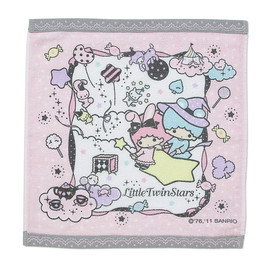Sanrio - Little Twin Stars handtowel (magical circus)