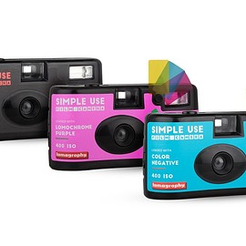 Lomography - Simple Use Film Camera (レンズ付フィルム) 3-Pack Bundle